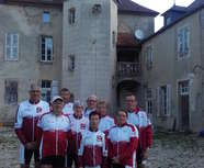 Les cyclos Villefranchois à la semaine fédérale de cyclotourisme de Dijon 2016.