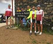 Virée dans le Cantal pour les cyclos.